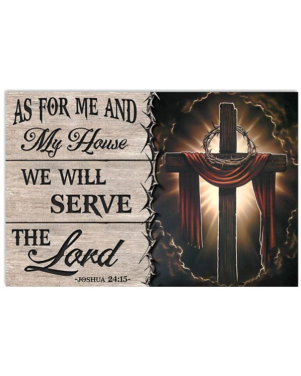 Jesus-As-for-me-and-my-house-we-will-serve-the-lord-poster-600x750