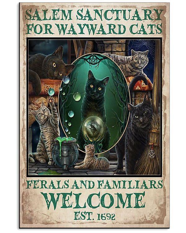 Salem-Sanctuary-For-Wayward-Cats-Welcome-Est-1692-Poster-600x750
