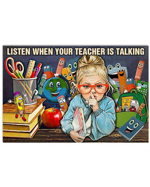 Listen-When-Teacher-Is-Talking-Poster-510x638