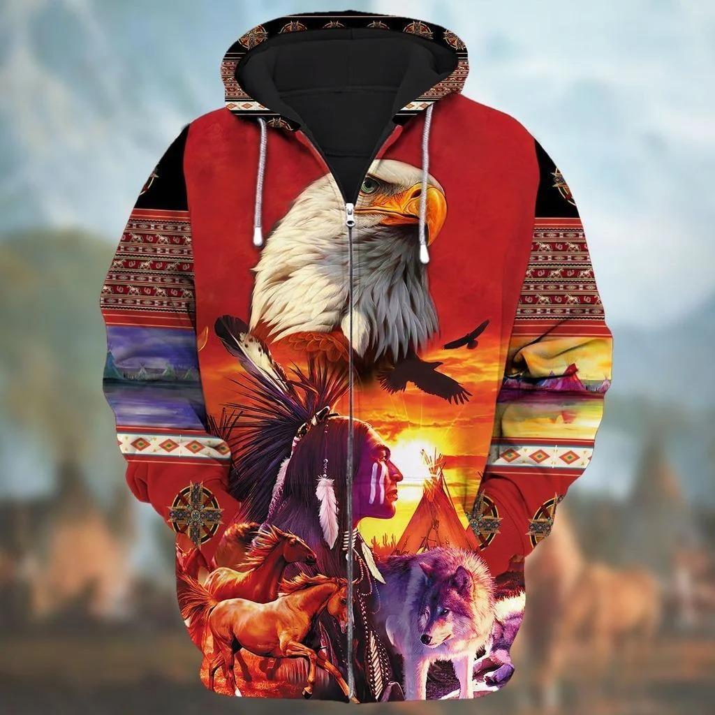 Native-American-Zip-Hoodie