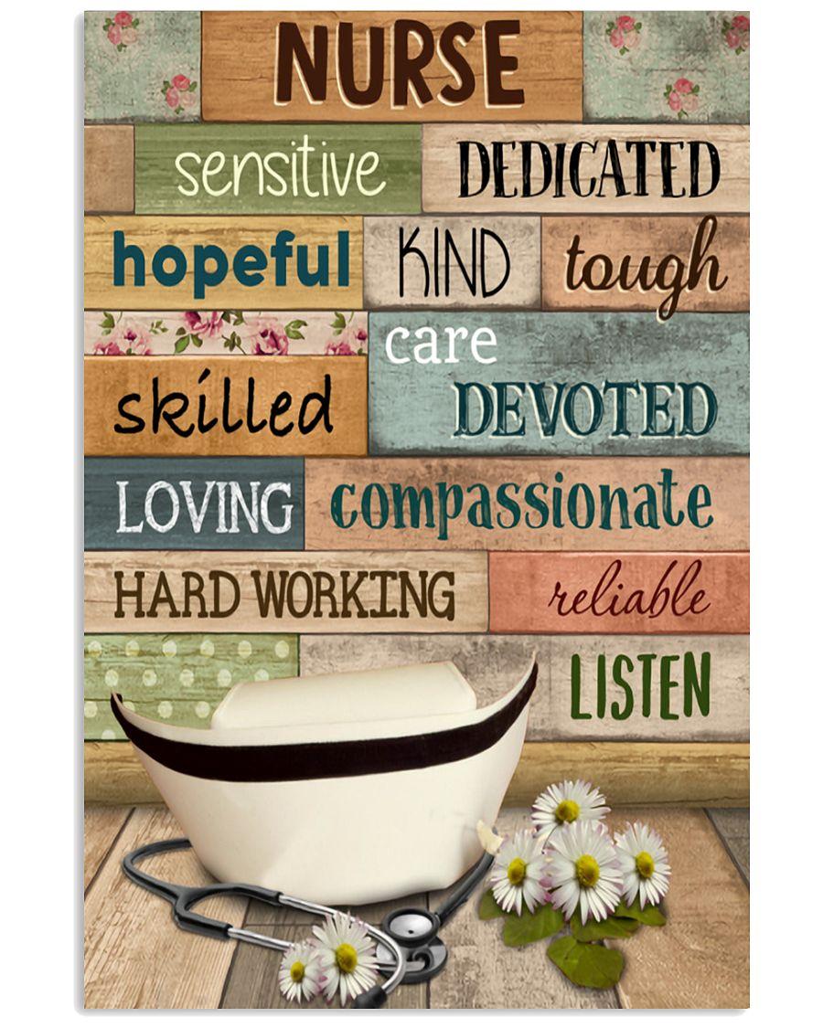Nurse-sensitive-dedicated-hopeful-kind-tough-skilled-care-devoted-poster