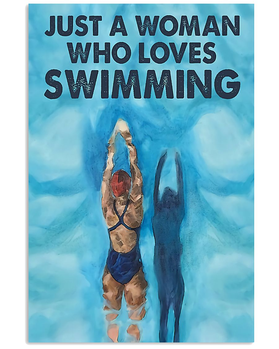 Just-A-Woman-Who-Loves-Swimming-Poster