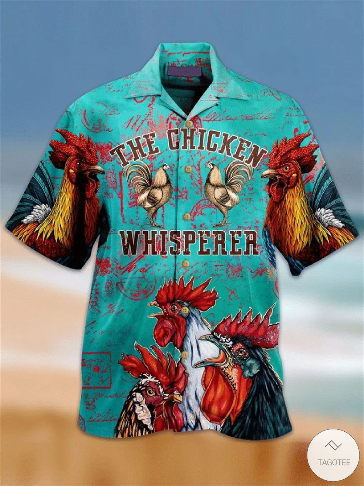The-Chicken-Whisperer-Hawaiian-Shirt