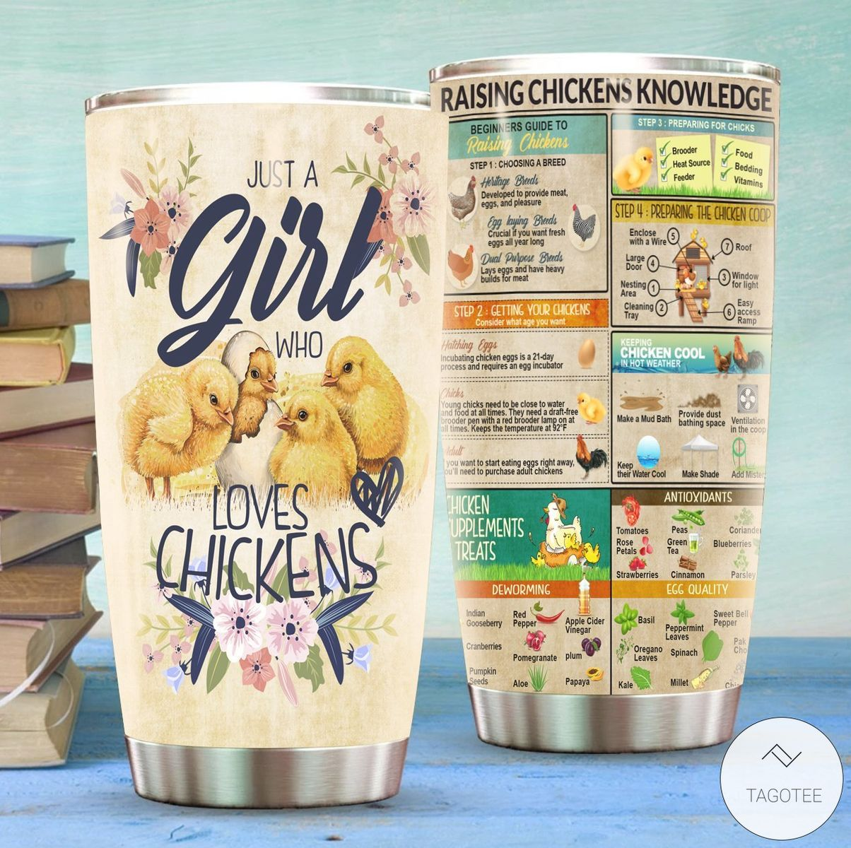 Just-A-Girl-Who-Loves-Chickens-Tumbler