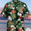Snoopy Tropical Aloha Hawaiian Shirt
